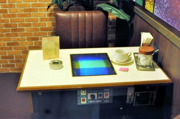 喫茶店のゲーム機
