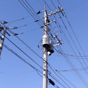 送電線と有害電磁波