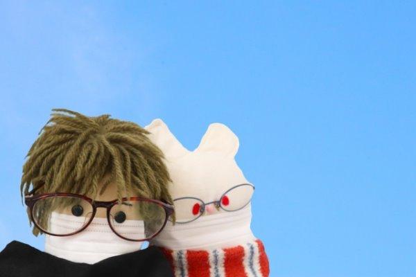 飛沫対策メガネ JINSプロテクト